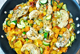 One Pot Chicken and Veggie Dinner One Pot Chicken and Veggie Dinner
