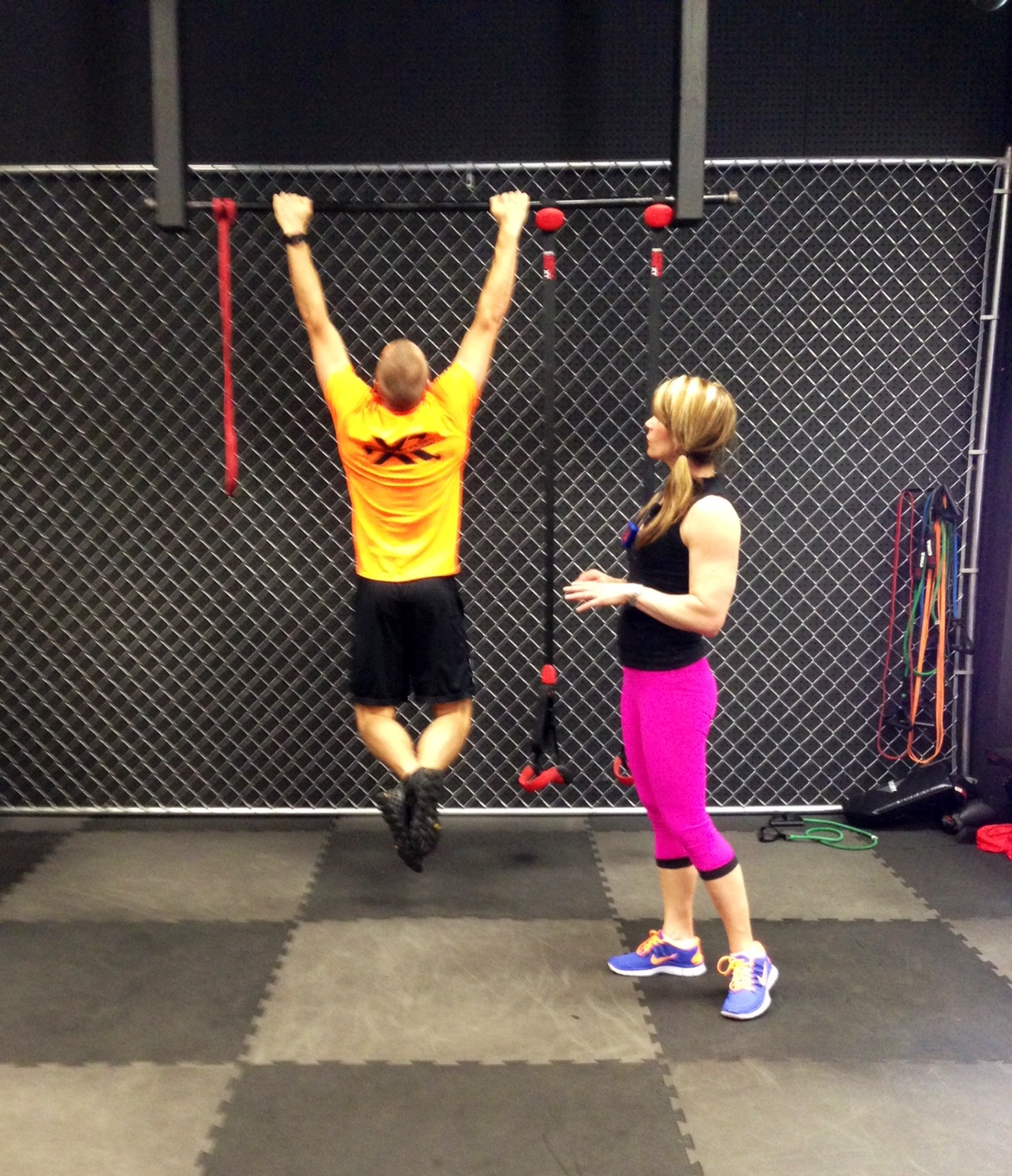 Chin Up Bar Calgary: Burpees And Box Jumps