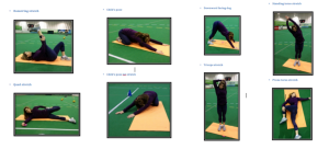 cool down 8 stretches