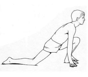 hip flexor sporting activities for martial arts