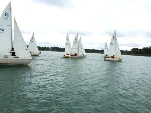 barge race start