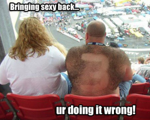 sexy back funny