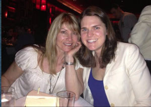 bday dinner Kate and me nyc 2014