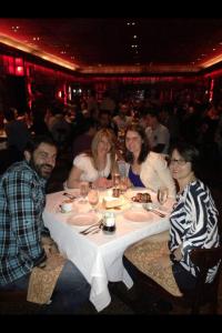 bday dinner NYC 2014