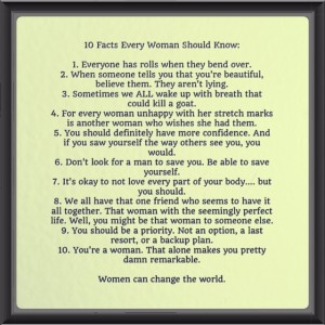 women 10 facts
